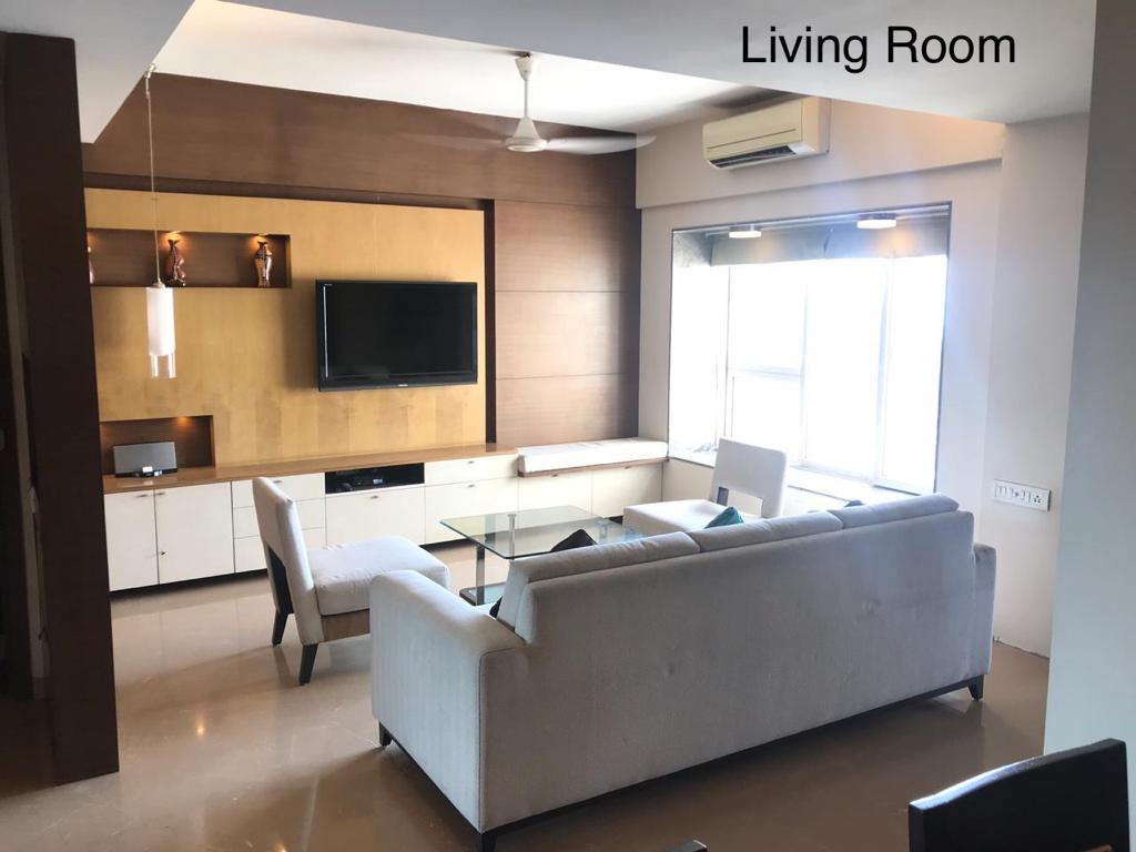 3 Bhk for Rent in Worli Near Dr Annie Besant Rd @ 1.35 Lac